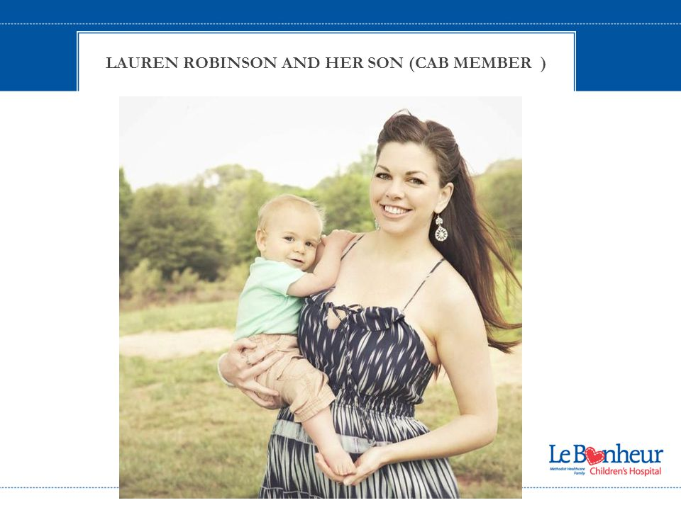 l LAUREN ROBINSON AND HER SON (CAB MEMBER )