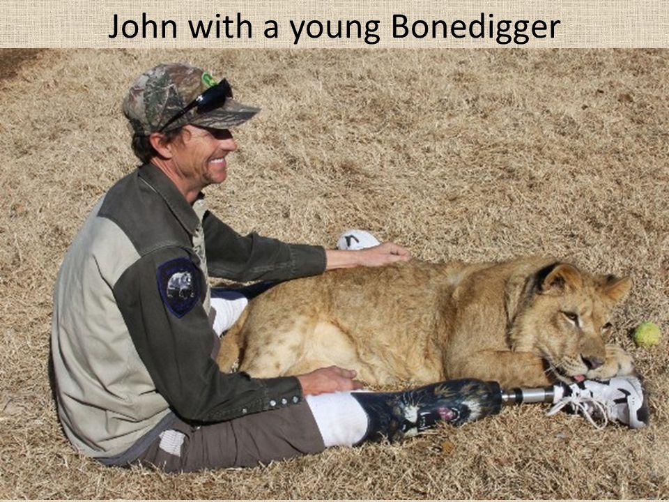 John with a young Bonedigger