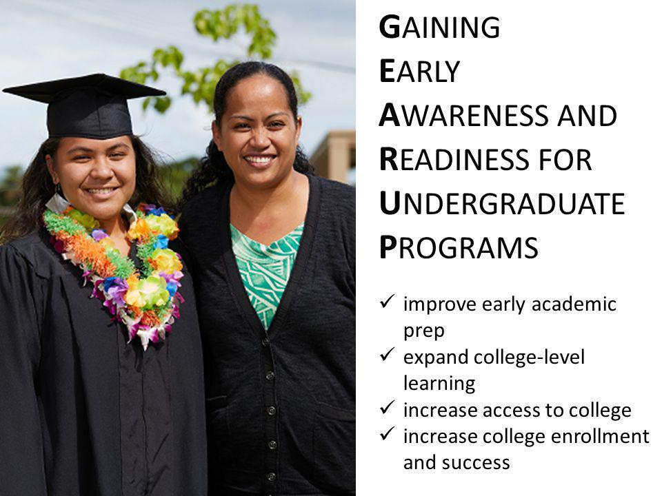 GEAR UP Hawai ʻ i Statewide Grant
