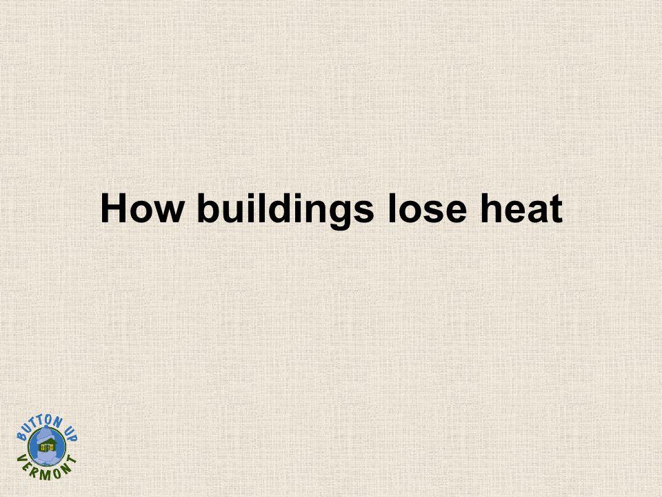 How buildings lose heat