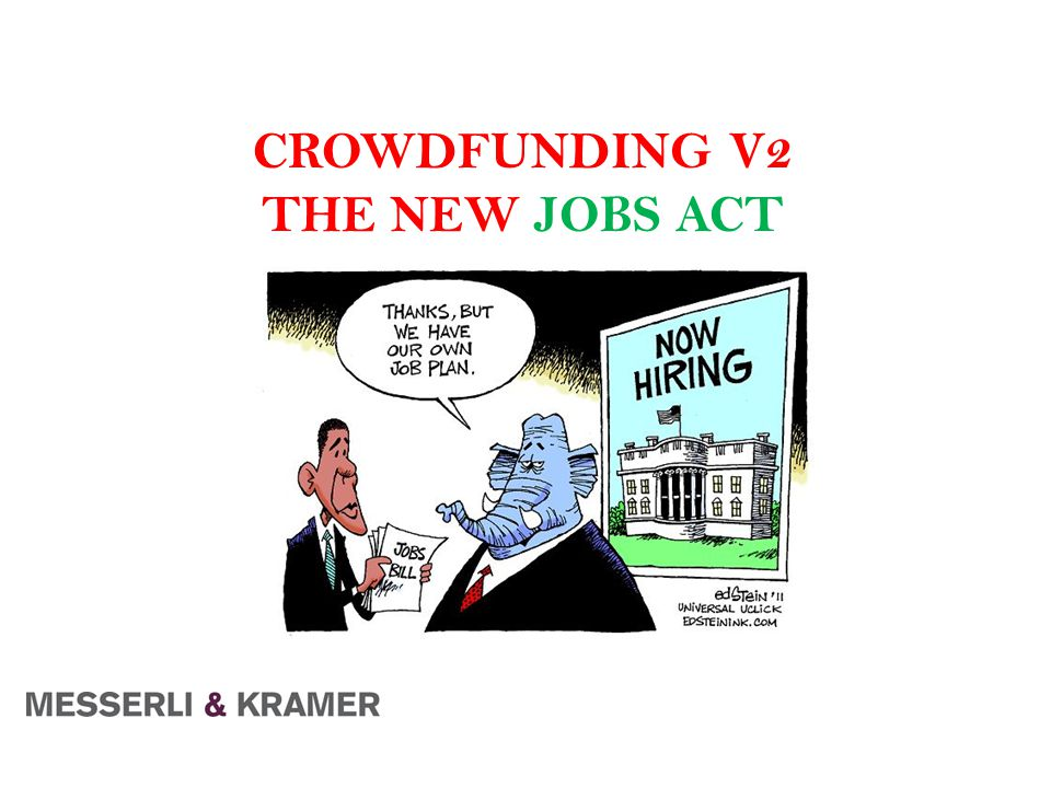 CROWDFUNDING V2 THE NEW JOBS ACT