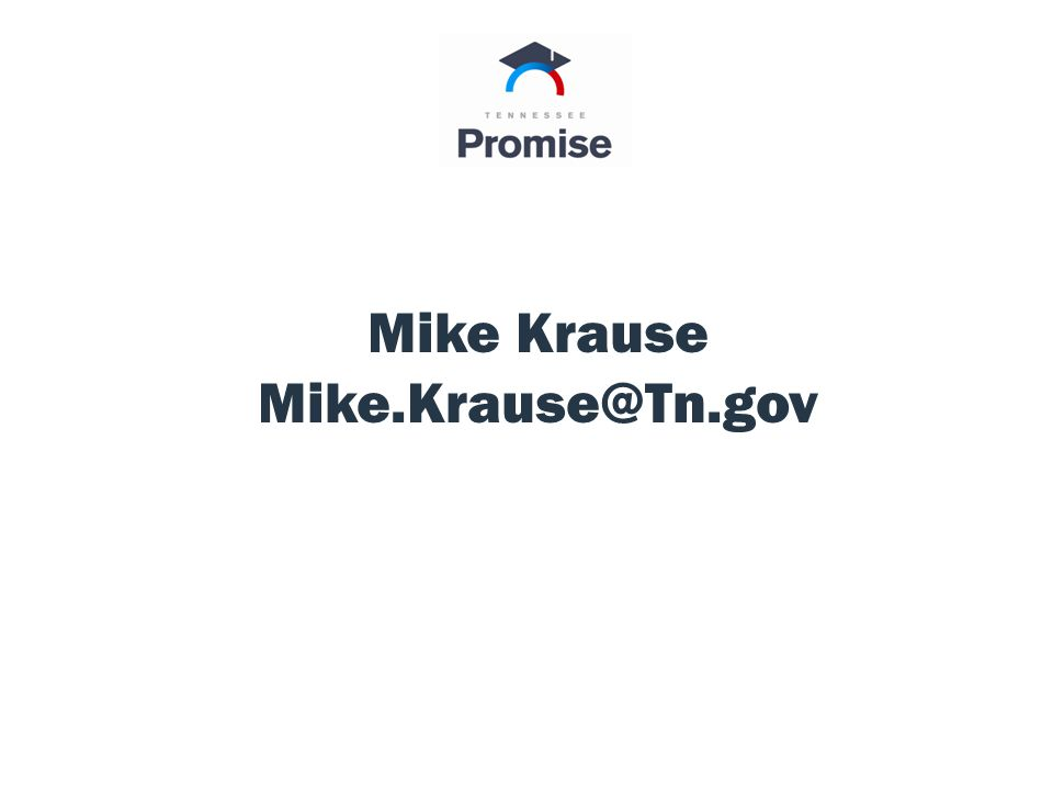 Assumptions within the Model Mike Krause Mike.Krause@Tn.gov