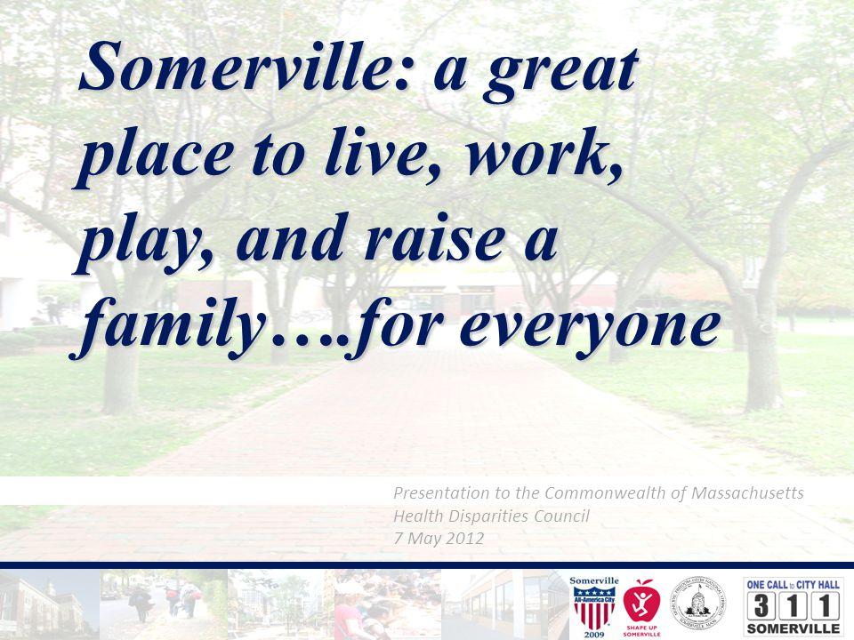 Planning for a Healthier Community: Somerville's Comprehensive Plan