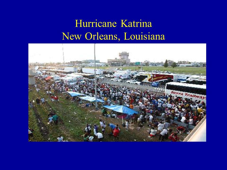Hurricane Katrina New Orleans, Louisiana