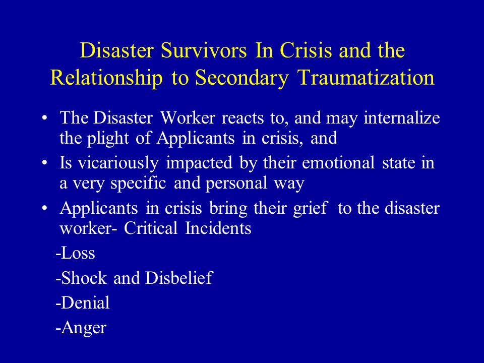 Phase III- Stress Related Disaster Recovery Activities Decline in all work Return home from deployment or Releases Pending from Call Centers Rumor Mill - Who, What, When.