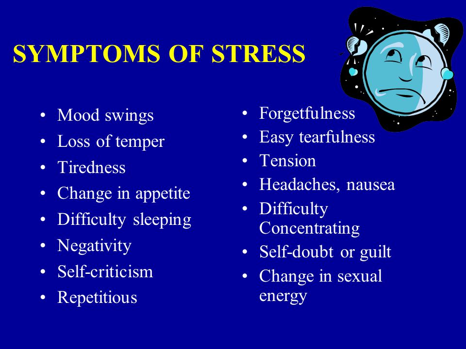 SOURCES OF STRESS New job New assignment Conflict between work and home Varying workload Unresolved issues in facets of personal life Medical/Emotional problems