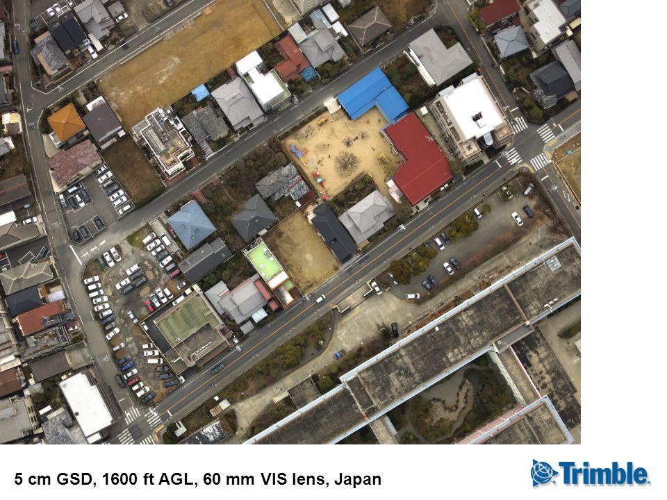 5 cm GSD, 1600 ft AGL, 60 mm VIS lens, Japan