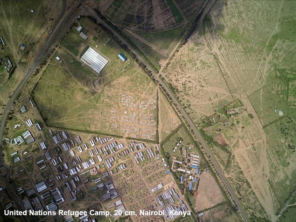 United Nations Refugee Camp, 20 cm, Nairobi, Kenya