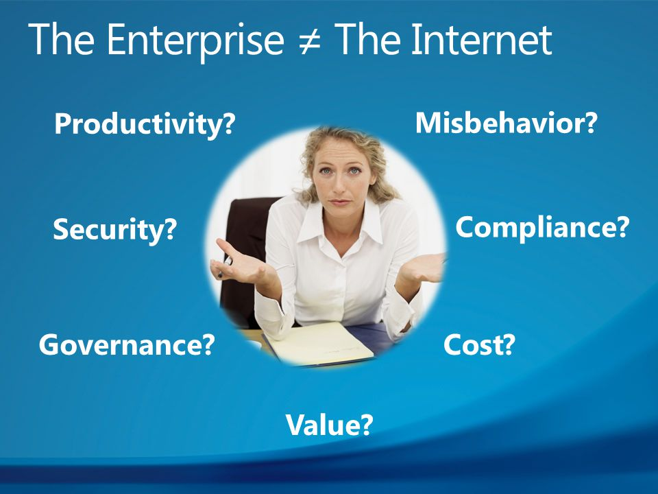 Security Productivity Compliance Value Misbehavior Governance Cost