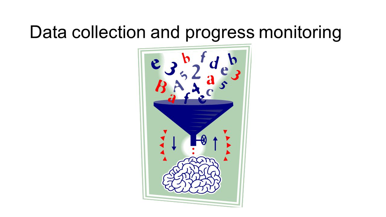 Data collection and progress monitoring