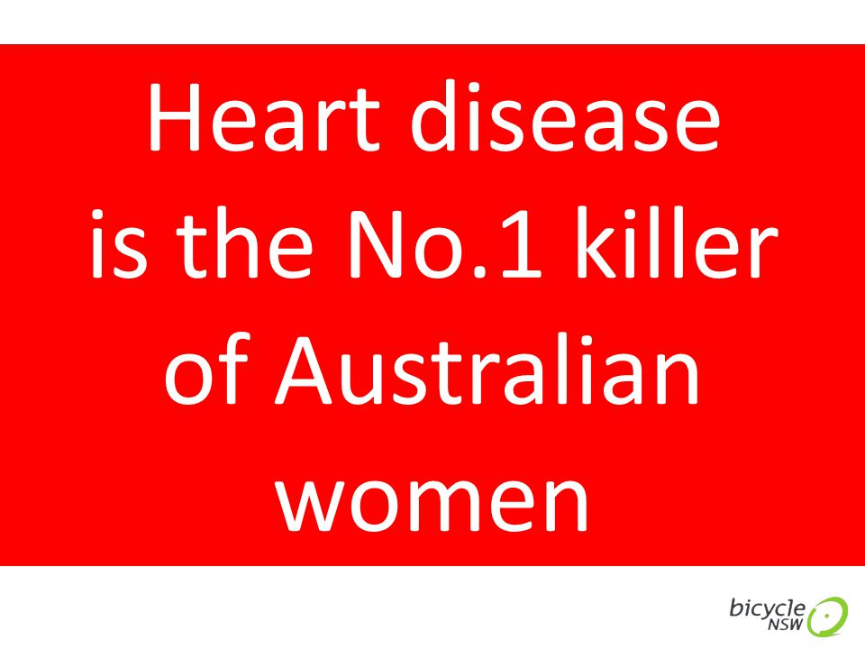 Heart disease is the No.1 killer of Australian women