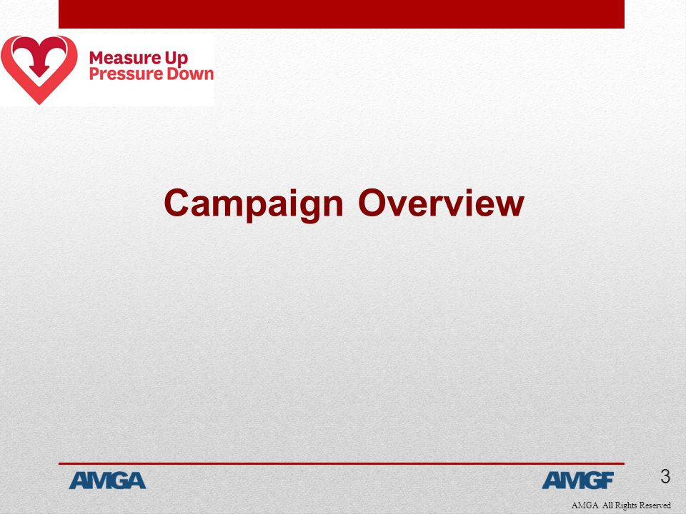 AMGA All Rights Reserved Campaign Overview 3