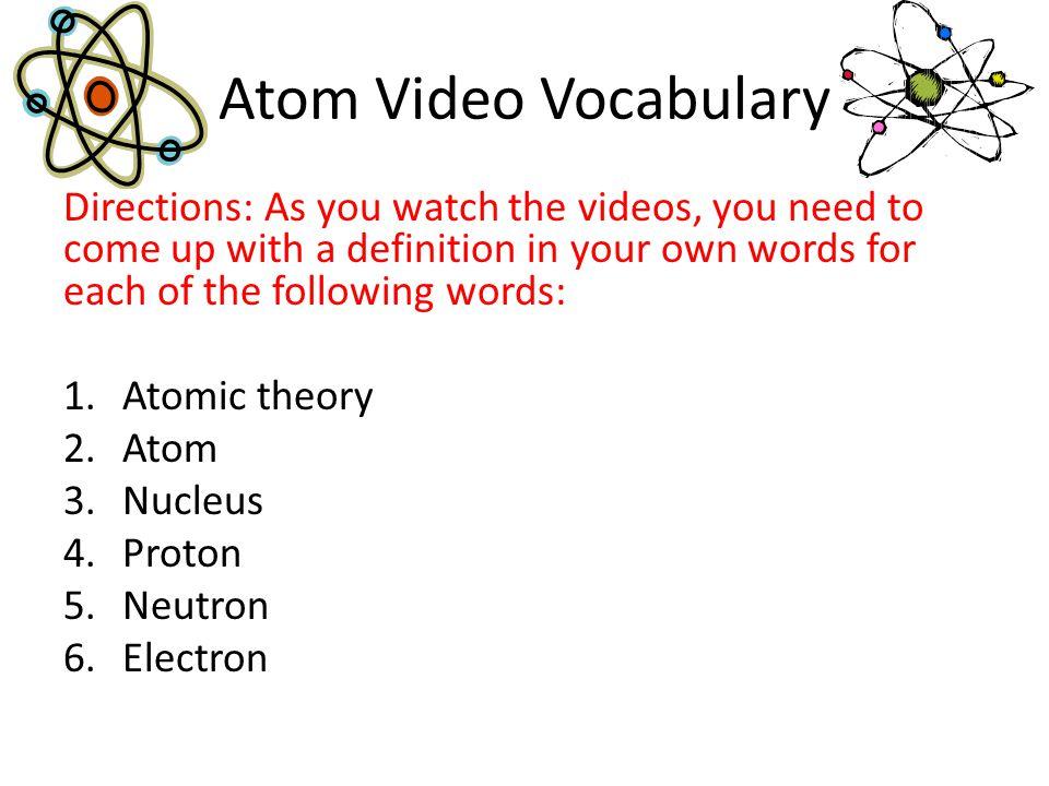 Draw the Atom Exit Ticket Draw an atom of Lithium (Li).
