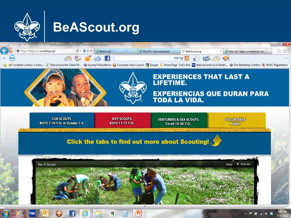 BeAScout.org 16