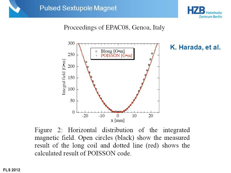 K. Harada, et al. Pulsed Sextupole Magnet