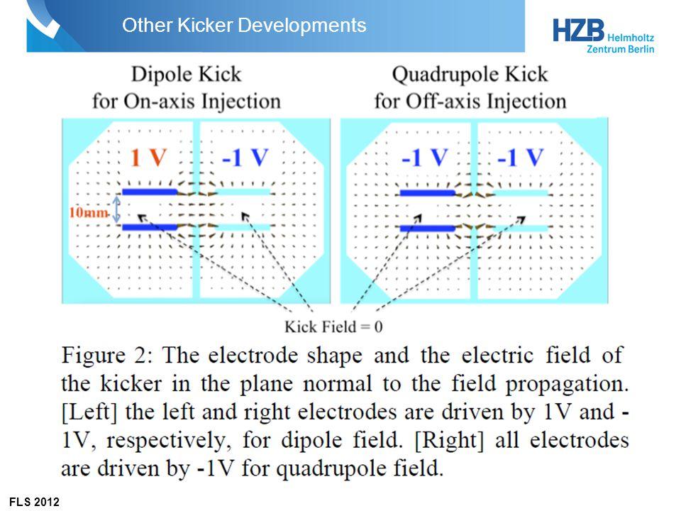 FLS 2012 Other Kicker Developments