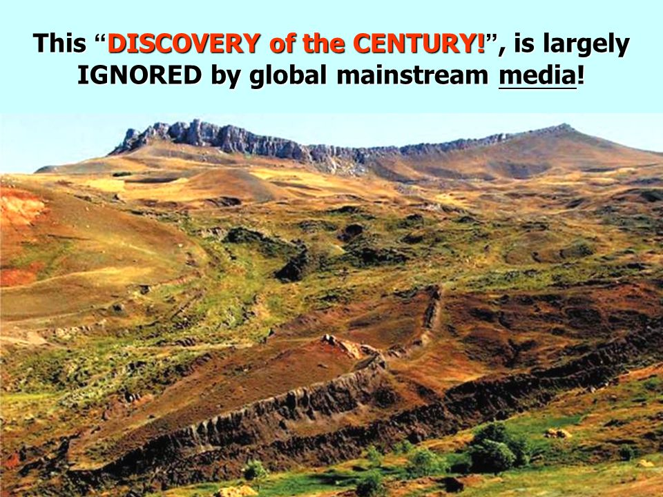 """This """" DISCOVERY of the CENTURY! """", is largely IGNORED by global mainstream media!"""