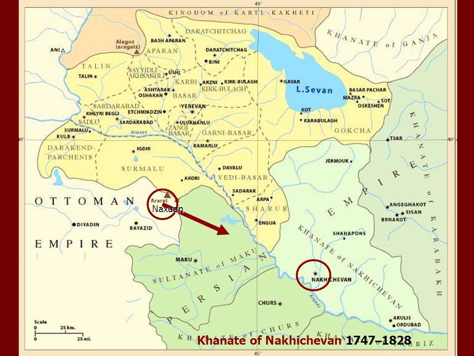 Naxuan Khanate of Nakhichevan 1747 – 1828