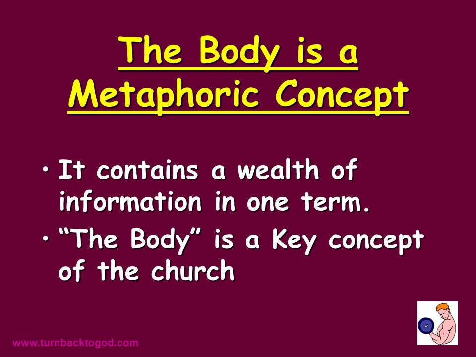 We are all to be body builders! www.turnbacktogod.com