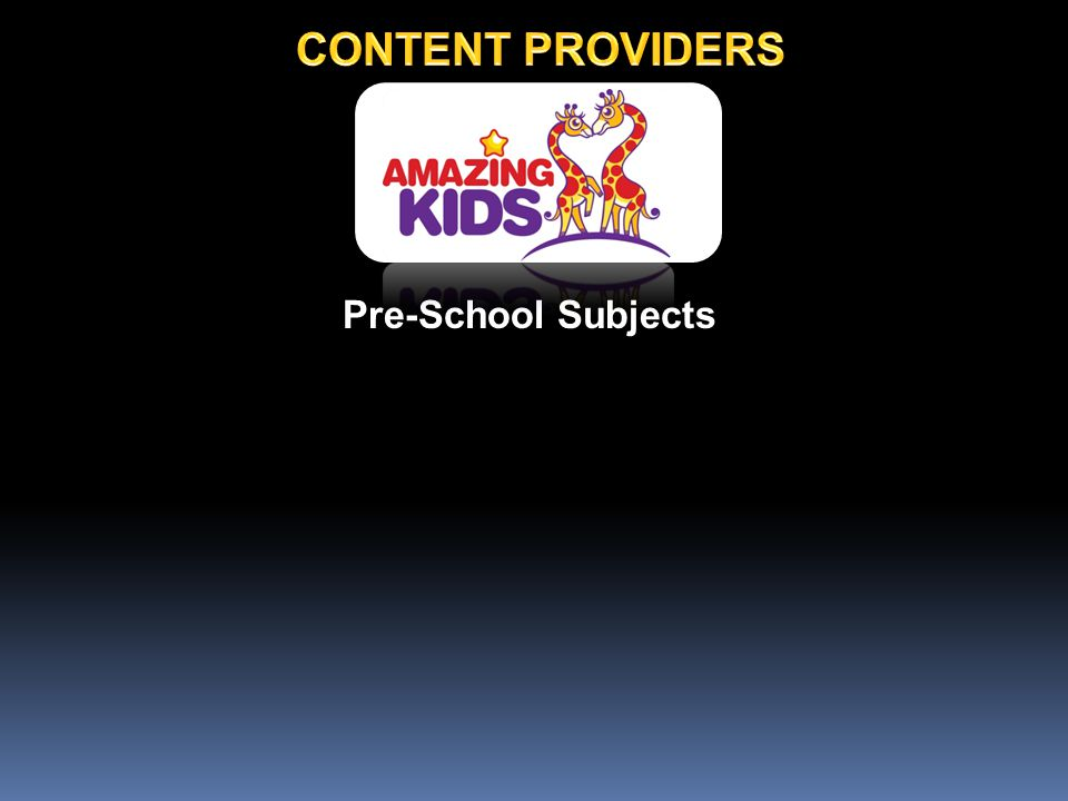 Pre-School Subjects