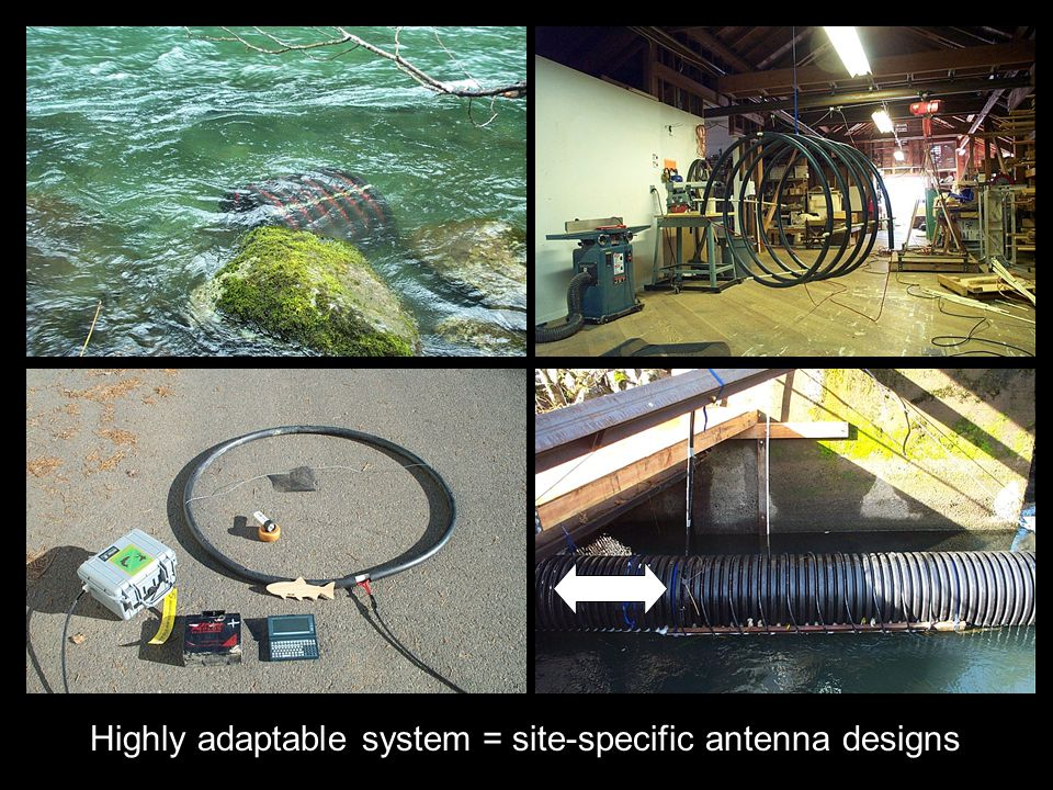 Spiral Antenna Highly adaptable system = site-specific antenna designs