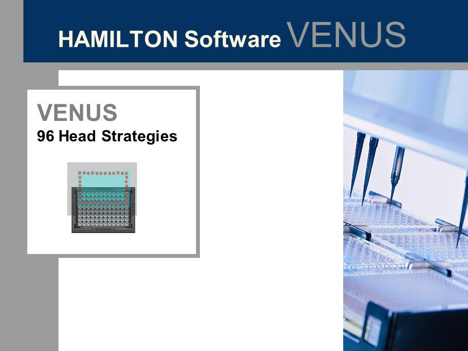 HAMILTON Software VENUS VENUS 96 Head Strategies