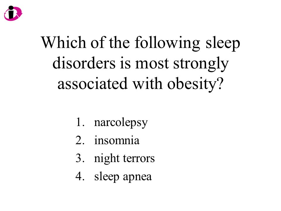 Which of the following sleep disorders is most strongly associated with obesity.