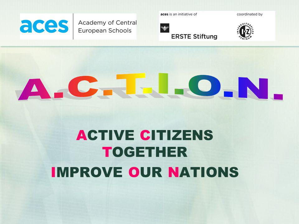 ACTIVE CITIZENS TOGETHER IMPROVE OUR NATIONS