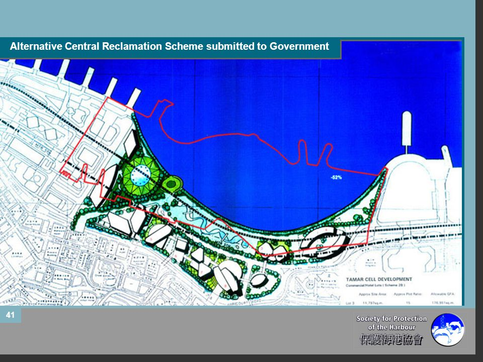 Alternative Central Reclamation Scheme submitted to Government 41