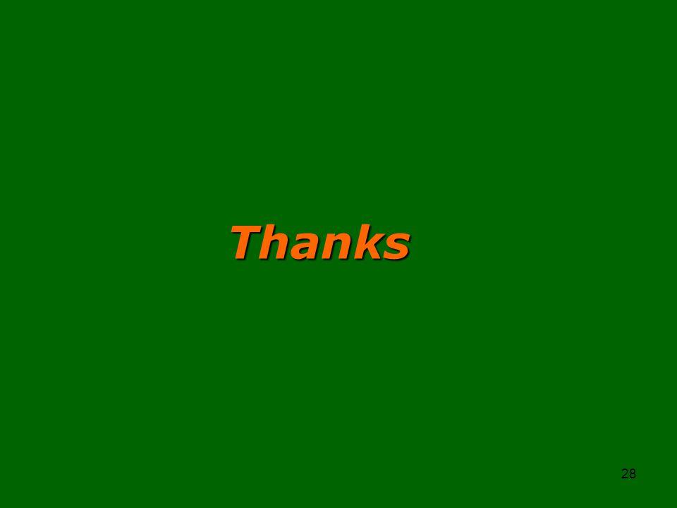 28 Thanks
