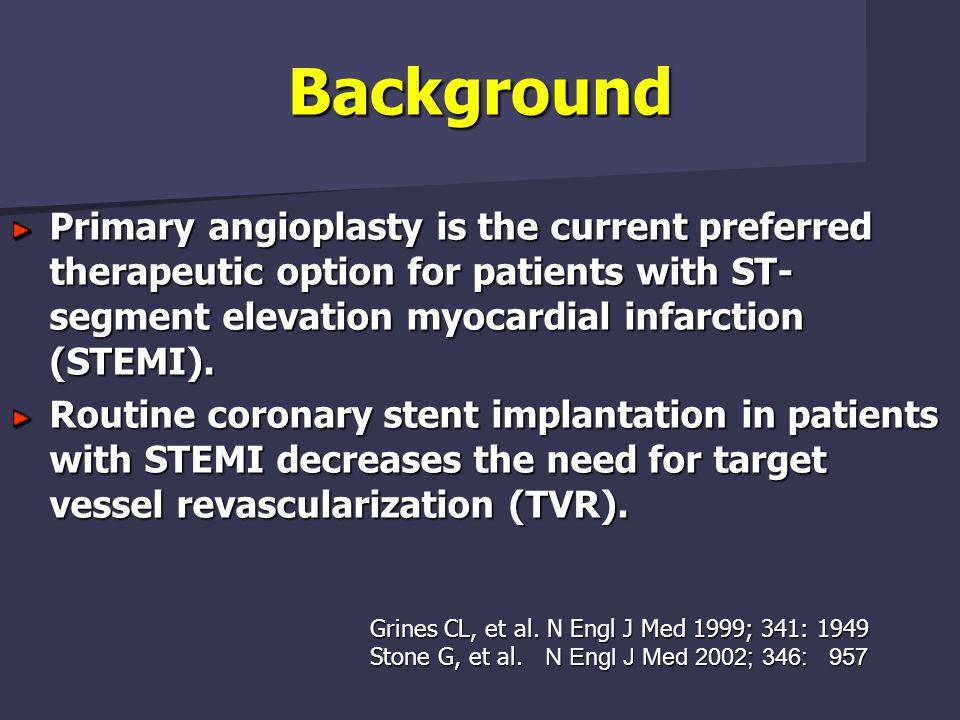 STEMI: Stent and Mortality