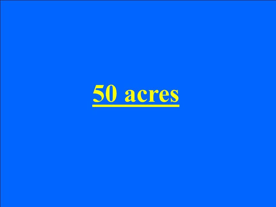 50 acres