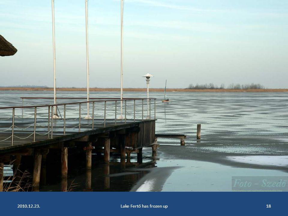 2010.12.23.Lake Fertő has frozen up17