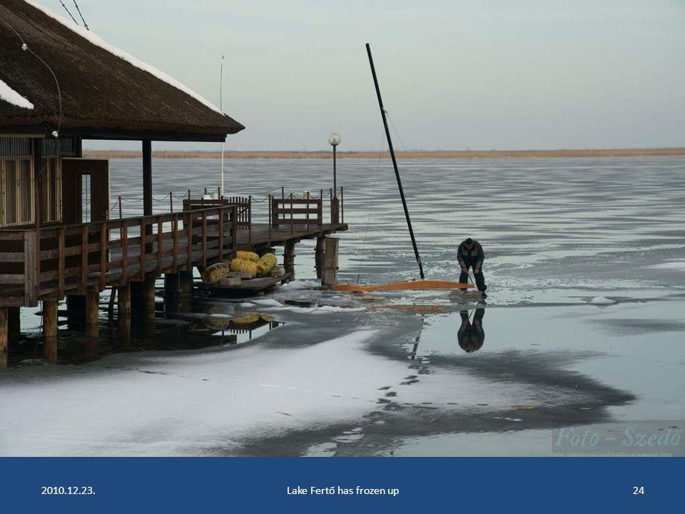 2010.12.23.Lake Fertő has frozen up23