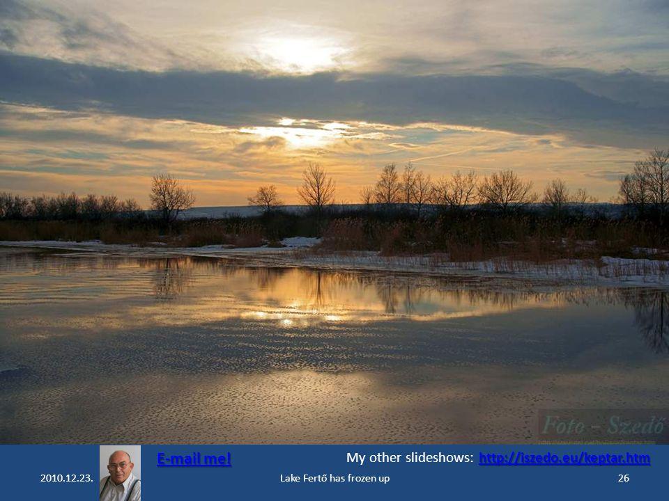 2010.12.23.Lake Fertő has frozen up25