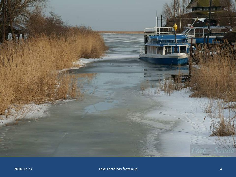 2010.12.23.Lake Fertő has frozen up3
