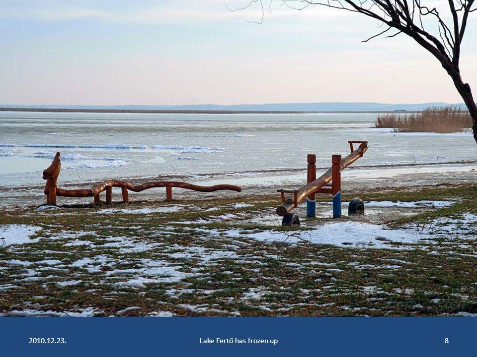 2010.12.23.Lake Fertő has frozen up7
