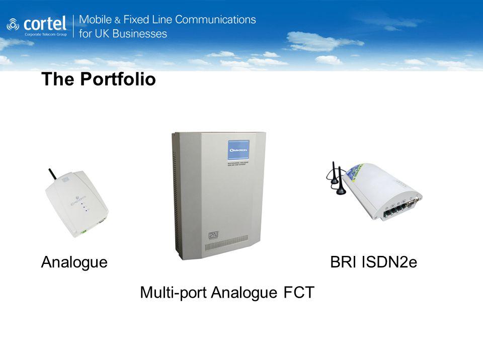 The Portfolio AnalogueBRI ISDN2e Multi-port Analogue FCT