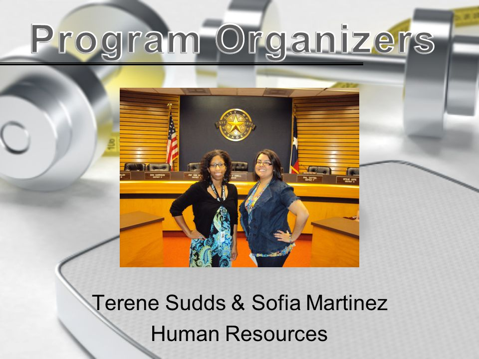Terene Sudds & Sofia Martinez Human Resources