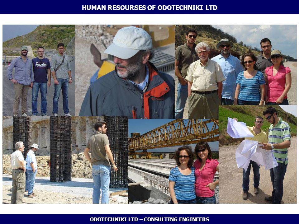 ODOTECHNIKI LTD – CONSULTING ENGINEERS HUMAN RESOURSES OF ODOTECHNIKI LTD