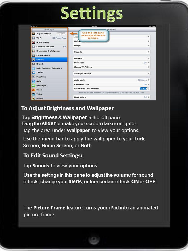 Open your settings Select 'Safari' in the left menu.