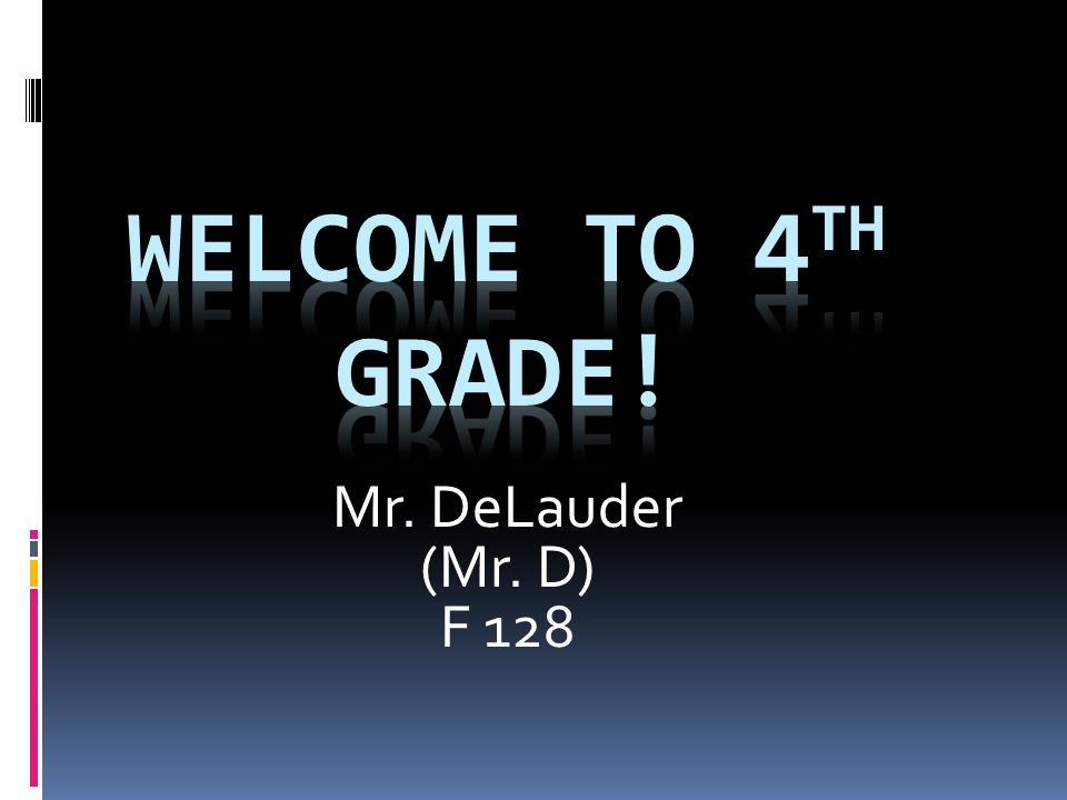Mr. DeLauder (Mr. D) F 128