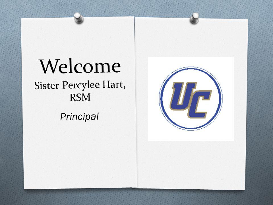 Welcome Sister Percylee Hart, RSM Principal