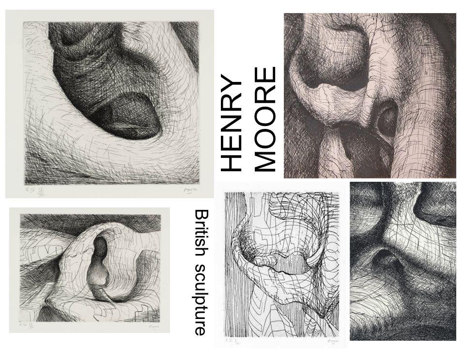 HENRY MOORE British sculpture