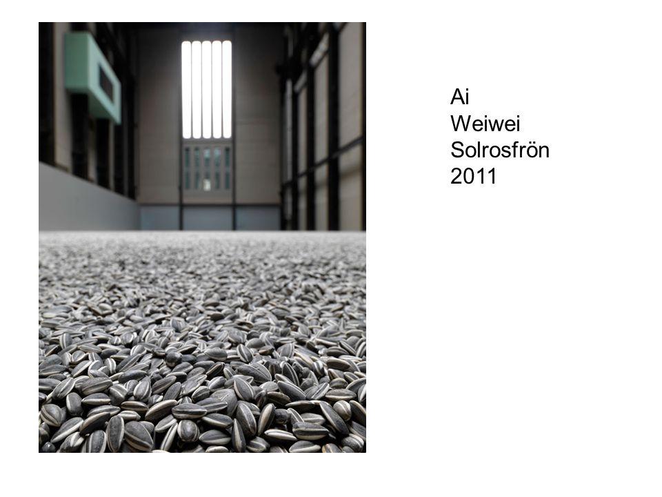 Ai Weiwei Solrosfrön 2011