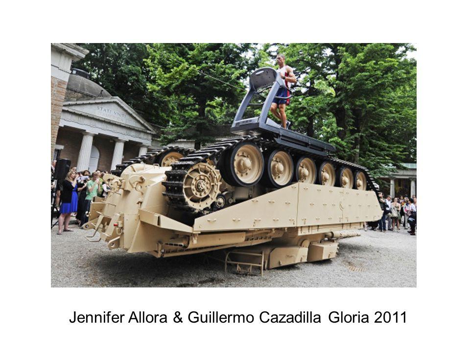 Jennifer Allora & Guillermo Cazadilla Gloria 2011