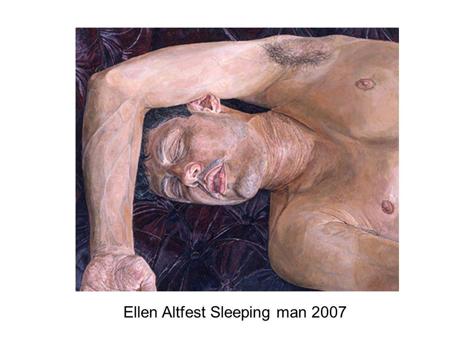 Ellen Altfest Sleeping man 2007