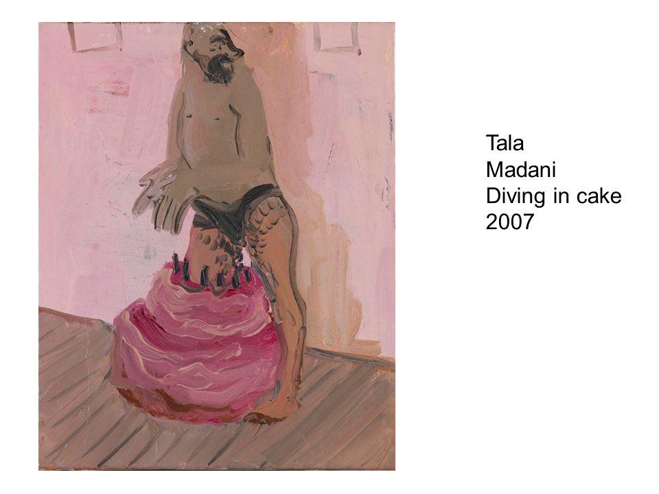 Tala Madani Diving in cake 2007
