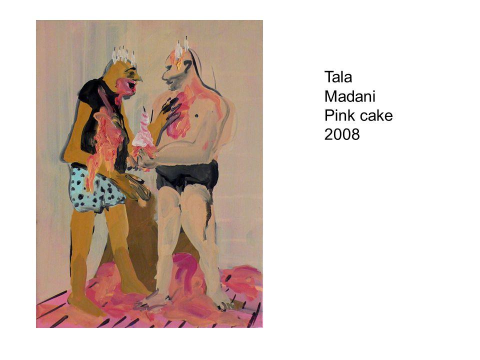 Tala Madani Pink cake 2008