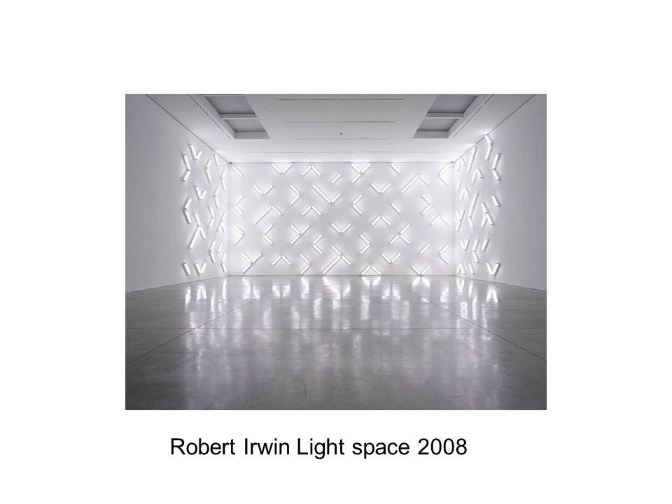 Robert Irwin Light space 2008